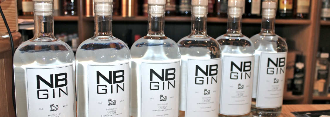 NB GIN: VERDENS BEDSTE LONDON DRY GIN